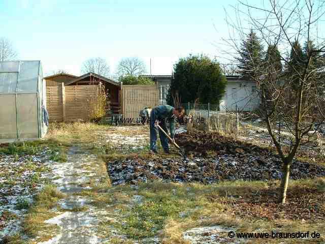 Gartentagebuch dezember 2004 for Boden umgraben