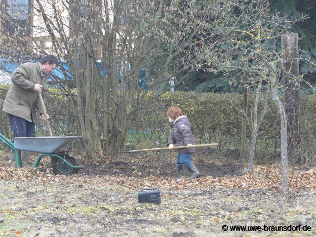 Gartentagebuch november 2012 for Boden umgraben